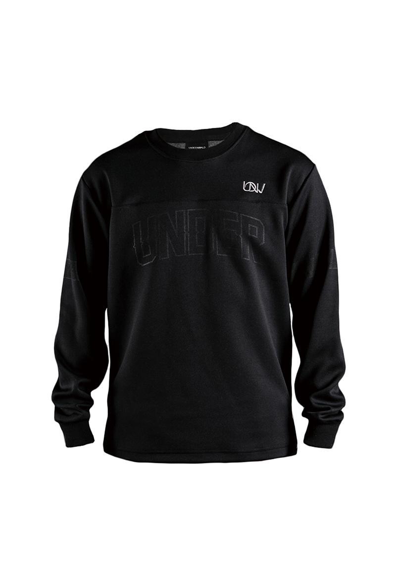 Hockey Jersey Black Sweater