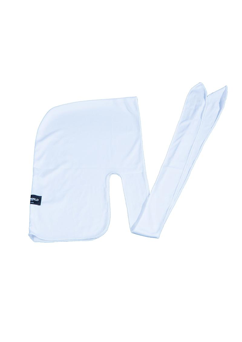 UNDERWORLD Durag White Breakdance Hip Hop Cap