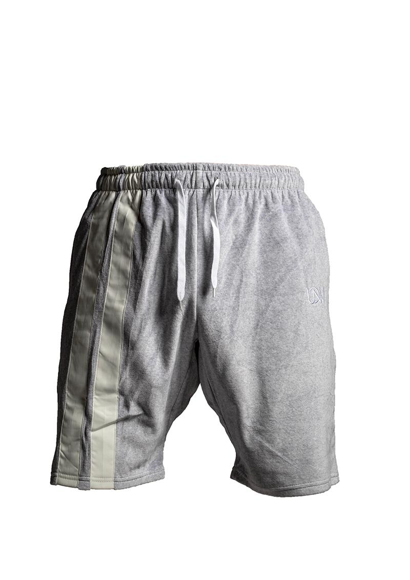 Flannel Shorts Grau