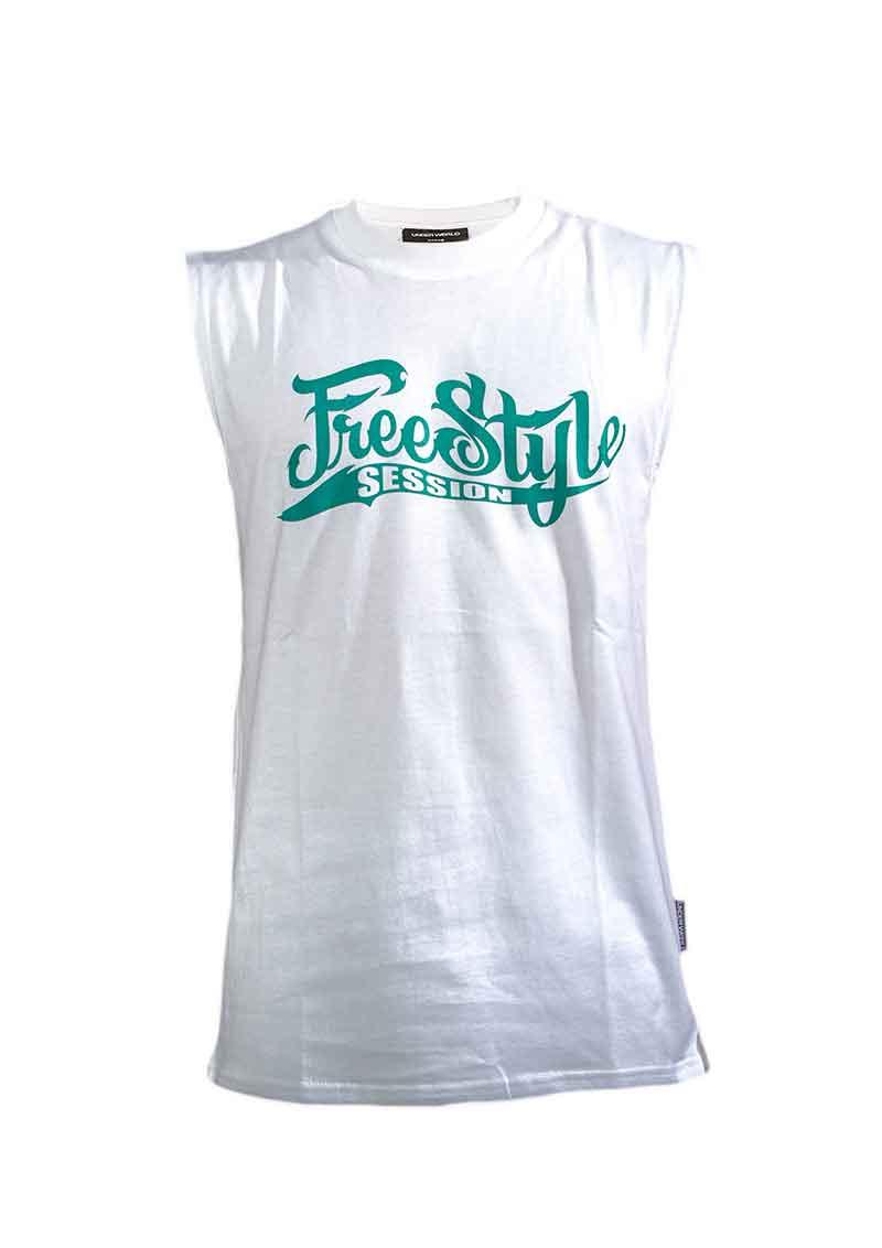 UNDERWORLD X Freestyle Session Tank Top Weiß