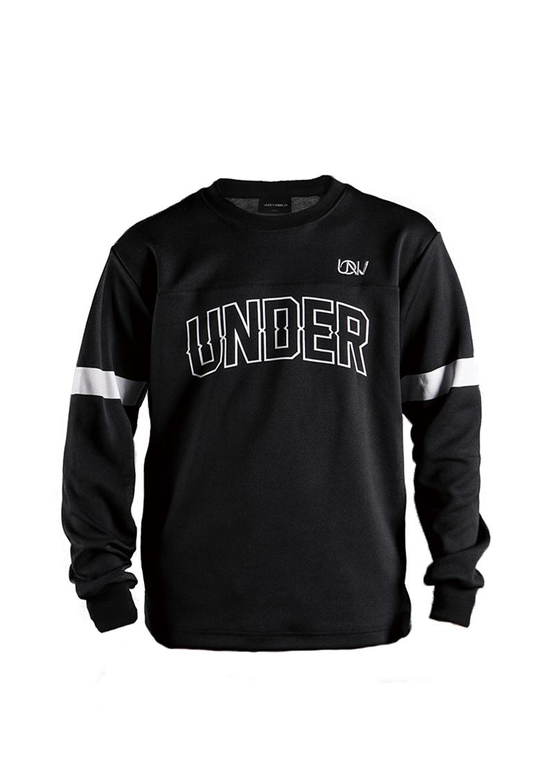 Hockey Jersey Black-White Sweater