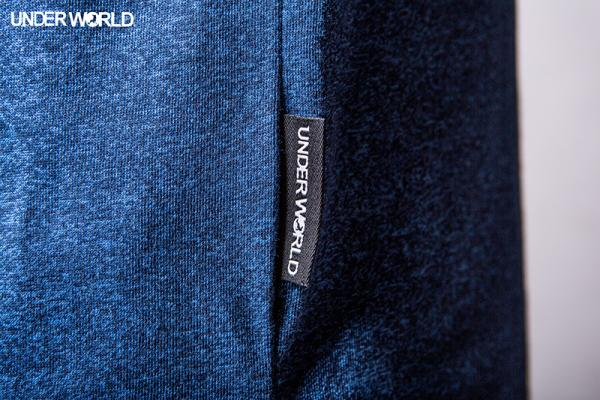 "UnderWorld Long Shirt ""Blau"""