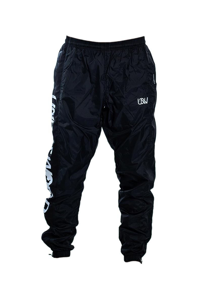 "Men's Windbreaker Training Pants Model F3 ""Logo"" Black"