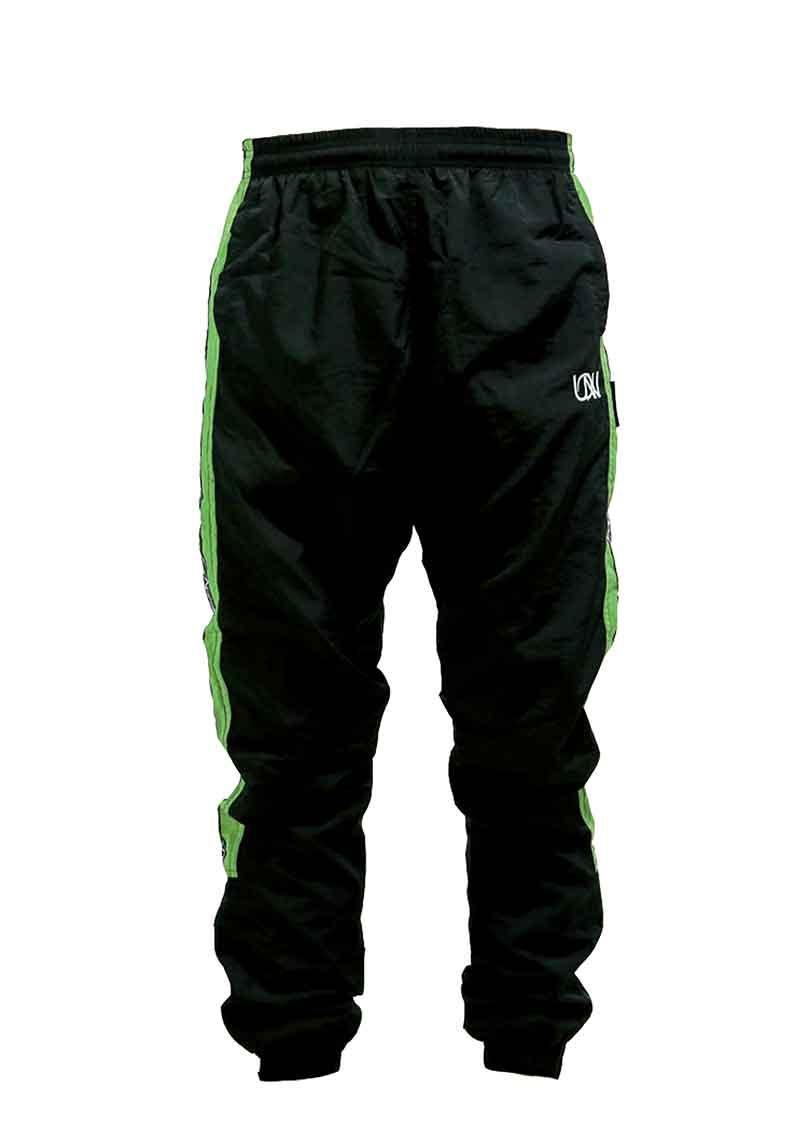 "Men's Windbreaker Training Pants Model F3 ""MAX"" Green/Grey"