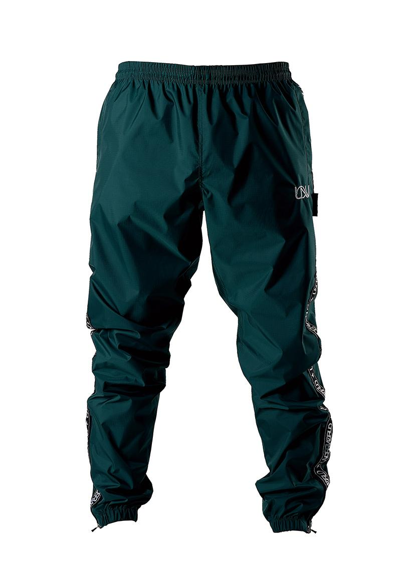 "Men's Windbreaker Training Pants Model F3 ""Ribbon"" Green"