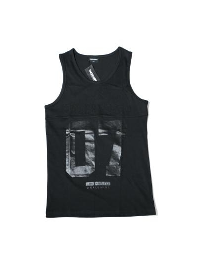 "Tank Top ""Splice"" Schwarz"