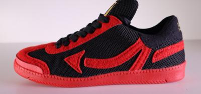 "Sneaker ""NUMBAWONZ V2"" Fiery Red/Black *LIMITED EDITION*"