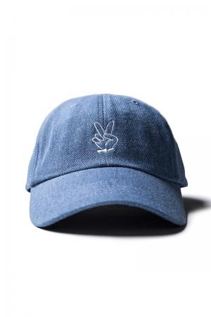 "UNDERWORLD Baseball Cap Modell ""Peace"" Blau Breakdance Mütze"