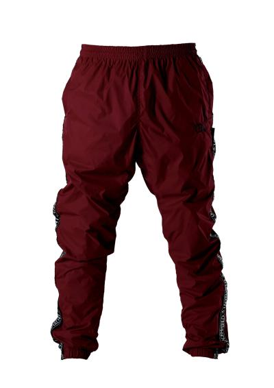 "Men's Windbreaker Training Pants Model F3 ""Ribbon"" Red"